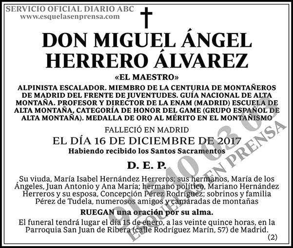 Miguel Ángel Herrero Álvarez